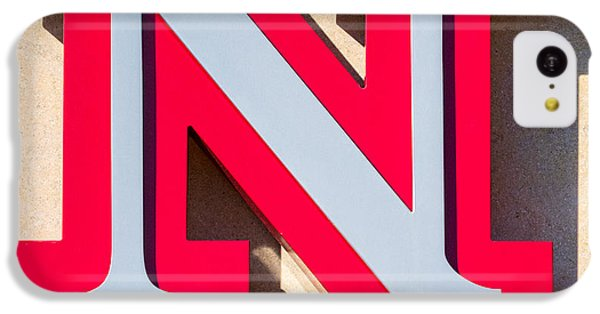 UNL IPhone 5c Case by Jerry Fornarotto