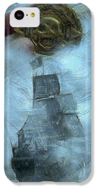 Unnatural Fog IPhone 5c Case by Benjamin Dean