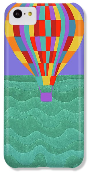 iPhone 5c Case - Up Up And Away by Synthia SAINT JAMES