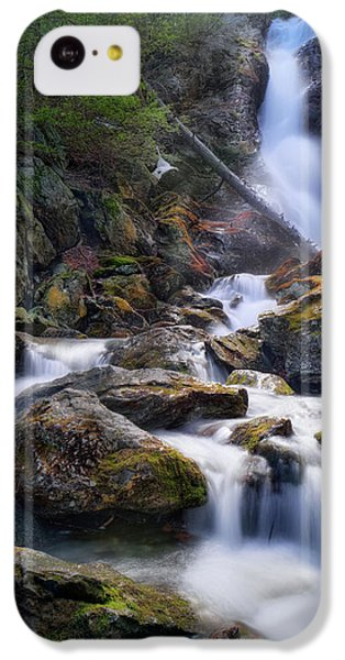 IPhone 5c Case featuring the photograph Upper Race Brook Falls 2017 by Bill Wakeley