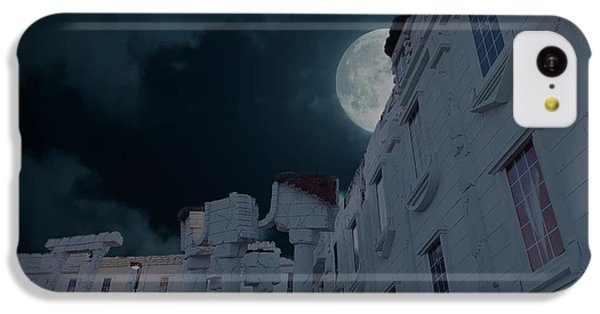 Whitehouse iPhone 5c Case - Upside Down White House At Night by Art Spectrum