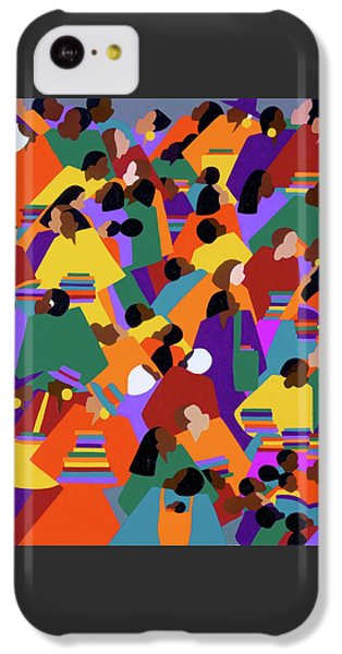 iPhone 5c Case - Uptown by Synthia SAINT JAMES
