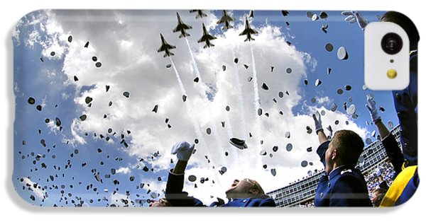 U.s. Air Force Academy Graduates Throw IPhone 5c Case by Stocktrek Images