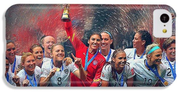 Us Women's Soccer IPhone 5c Case by Semih Yurdabak