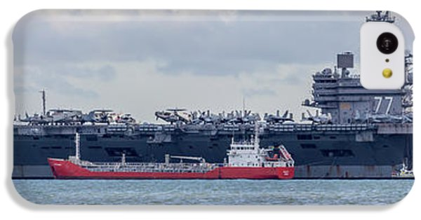 Uss George H.w Bush. IPhone 5c Case