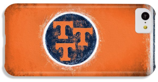 IPhone 5c Case featuring the digital art Ut Tennessee Flag by JC Findley