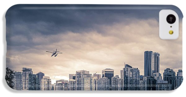 City Sunset iPhone 5c Case - Vancouver Skyline by Art Spectrum