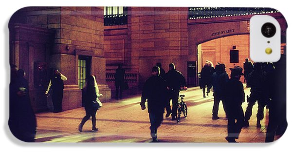 IPhone 5c Case featuring the photograph Grand Central Rush by Jessica Jenney