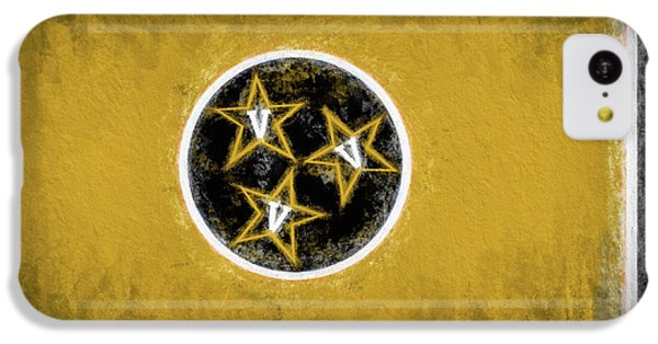 IPhone 5c Case featuring the digital art Vandy Tennessee State Flag by JC Findley