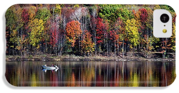 Vanishing Autumn Reflection Landscape IPhone 5c Case