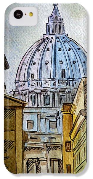 Vatican City IPhone 5c Case