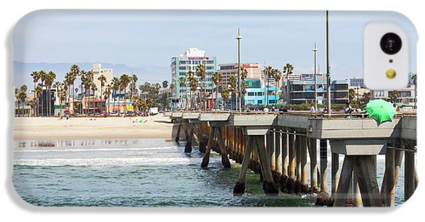 Venice Beach From The Pier IPhone 5c Case by Ana V Ramirez