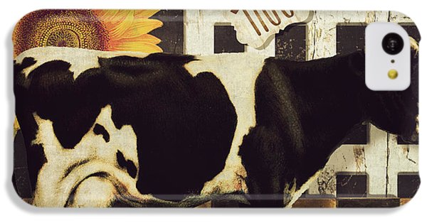 Cow iPhone 5c Case - Vermont Farms Cow by Mindy Sommers