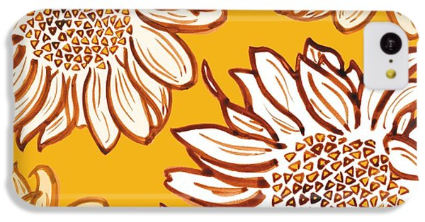 Floral iPhone 5c Case - Very Vincent by Sarah Hough