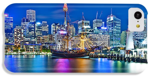 Vibrant Darling Harbour IPhone 5c Case