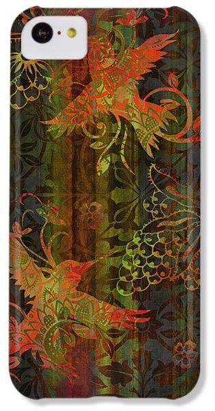 Humming Bird iPhone 5c Case - Victorian Humming Bird 3 by JQ Licensing