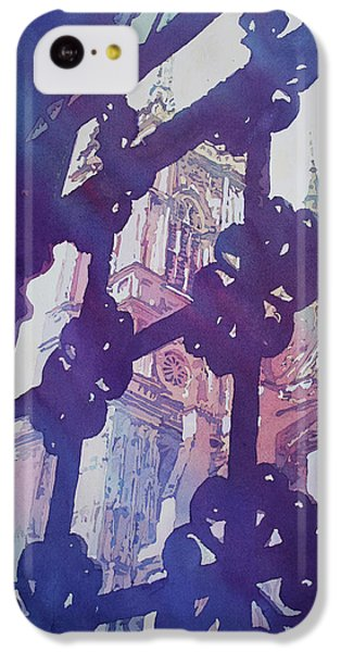 View From The Cloister IPhone 5c Case by Jenny Armitage