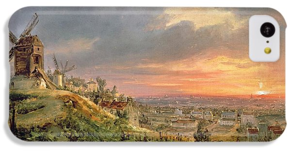 View Of The Butte Montmartre IPhone 5c Case