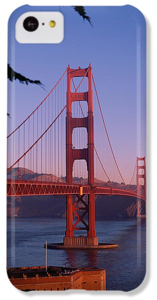 View Of The Golden Gate Bridge IPhone 5c Case by American School