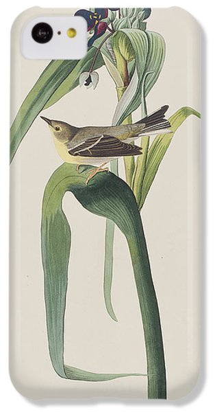 Vigor's Warbler IPhone 5c Case by John James Audubon