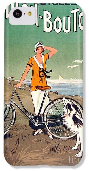 Vintage Bicycle Advertising IPhone 5c Case