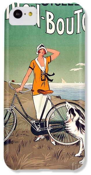 Bicycle iPhone 5c Case - Vintage Bicycle Advertising by Mindy Sommers