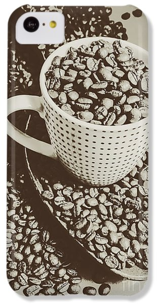 Vintage Coffee Art. Stimulant IPhone 5c Case by Jorgo Photography - Wall Art Gallery