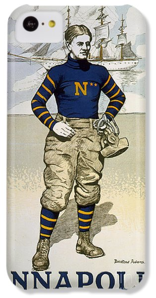 Vintage College Football Annapolis IPhone 5c Case by Pd