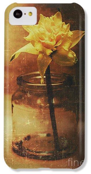 Vintage Daffodil Flower Art IPhone 5c Case