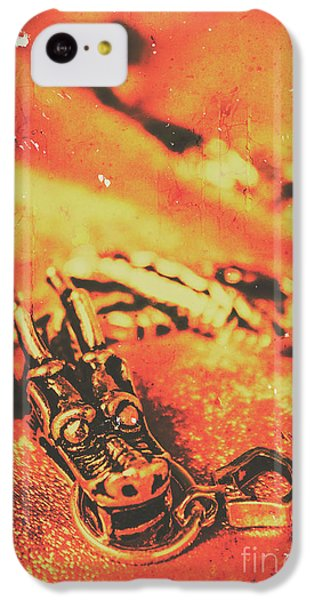 Dragon iPhone 5c Case - Vintage Dragon Charm by Jorgo Photography - Wall Art Gallery