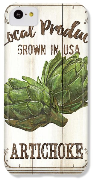 Vintage Fresh Vegetables 2 IPhone 5c Case by Debbie DeWitt