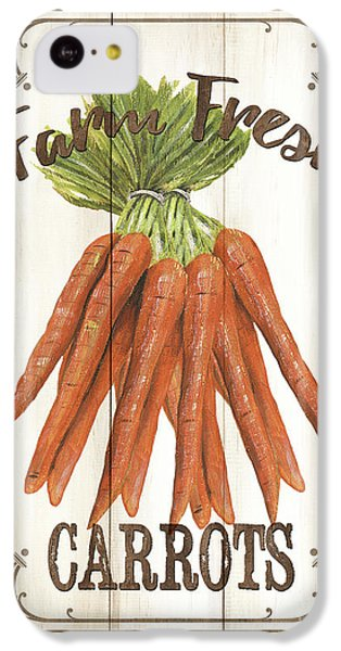 Vintage Fresh Vegetables 3 IPhone 5c Case by Debbie DeWitt