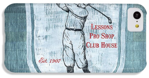 Vintage Golf Blue 1 IPhone 5c Case