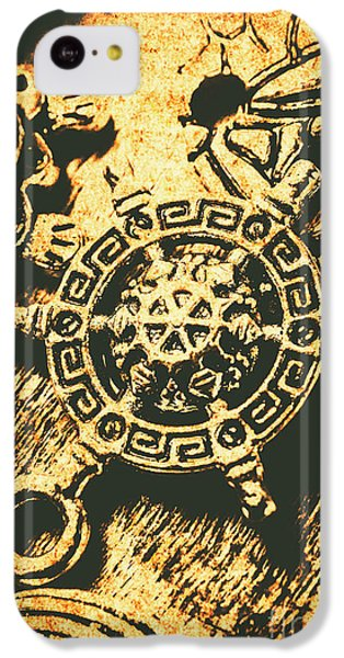 Navigation iPhone 5c Case - Vintage Maritime Design by Jorgo Photography - Wall Art Gallery