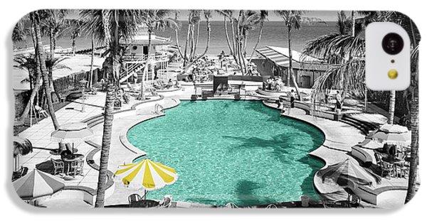 Miami iPhone 5c Case - Vintage Miami by Andrew Fare