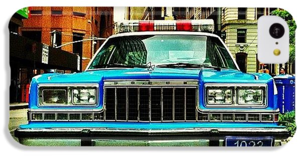 Vintage Nypd. #car #nypd #nyc IPhone 5c Case