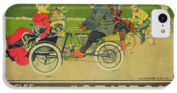 Griffon iPhone 5c Case - Vintage Poster Bicycle Advertisement by Walter Thor