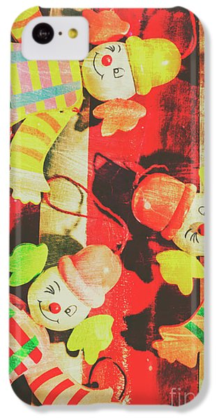 IPhone 5c Case featuring the photograph Vintage Pull String Puppets by Jorgo Photography - Wall Art Gallery