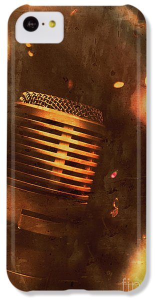 Sound iPhone 5c Case - Vintage Sound Check by Jorgo Photography - Wall Art Gallery