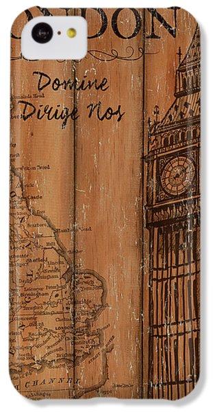 Big Ben iPhone 5c Case - Vintage Travel London by Debbie DeWitt