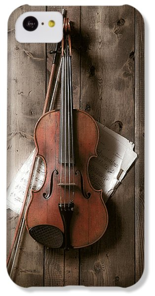 Still Life iPhone 5c Case - Violin by Garry Gay