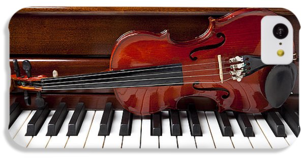Violin On Piano IPhone 5c Case