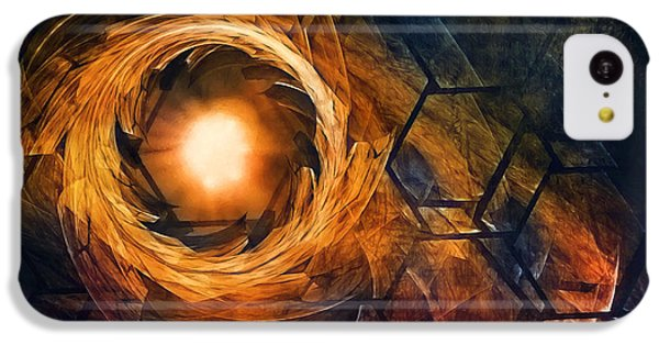 Repeat iPhone 5c Case - Vortex Of Fire by Scott Norris