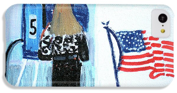 Voting Booth 2008 IPhone 5c Case by Candace Lovely