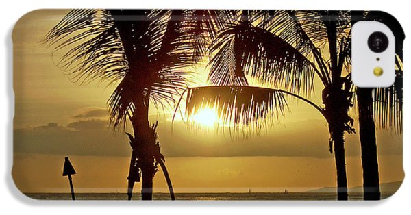 Waikiki Sunset IPhone 5c Case by Anthony Baatz