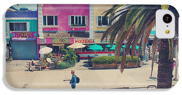 Santa Monica iPhone 5c Case - Waitin' For Victorio by Laurie Search
