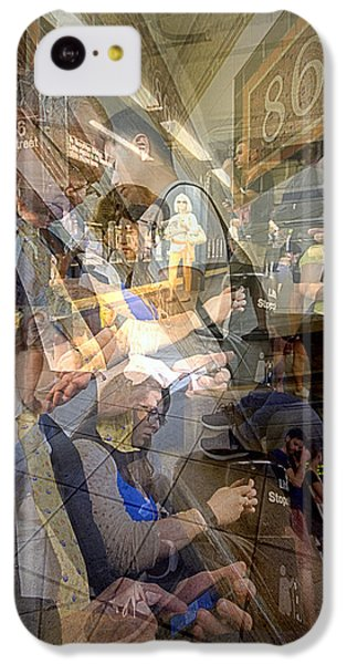 Waiting For 6 Train Collage IPhone 5c Case