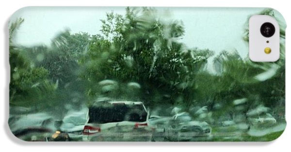 Sport iPhone 5c Case - Waiting For The Wet Stuff To Pass!! Big by Scott Pellegrin