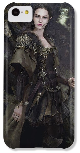 Waldelfe IPhone 5c Case by Eve Ventrue