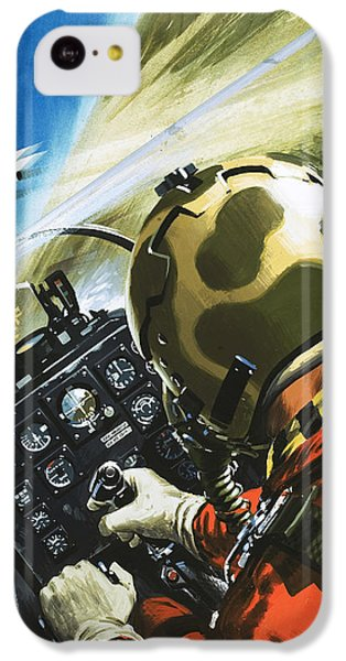 War In The Air IPhone 5c Case by Wilf Hardy